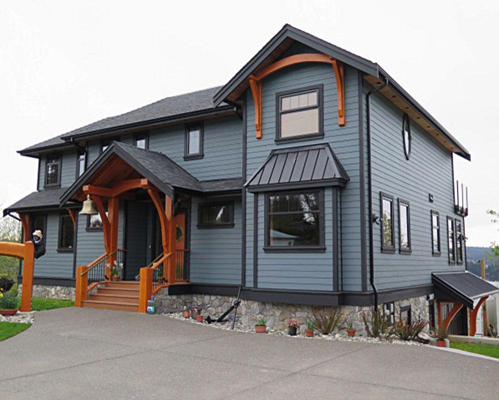 Nautical house west coast design for Nautical home designs