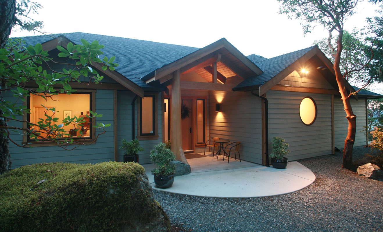 Arbutus House West Coast Design
